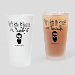 Beardiful Drinking Glass