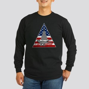 F-111G Aardvark Long Sleeve Dark T-Shirt