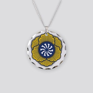 Shambhala School Logo Necklace Circle Charm