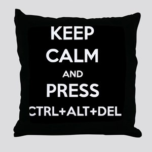 Ctrl+Alt+Del 2 Throw Pillow
