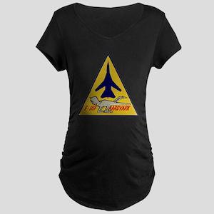 F-111F Aardvark Maternity Dark T-Shirt