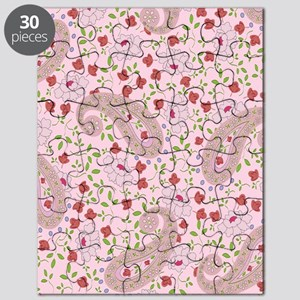 PINK PAISLEY Puzzle