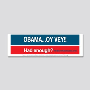 Obama... Oy Vey!!  My Buyer's Re Car Magnet 10 x 3