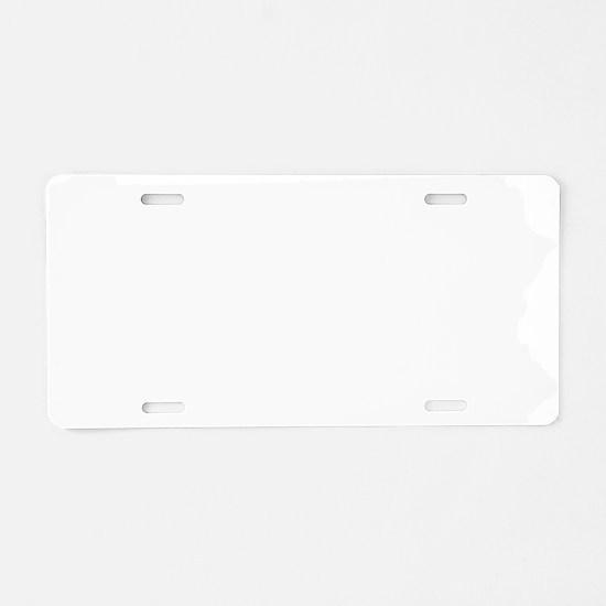 Blank Aluminum License Plate