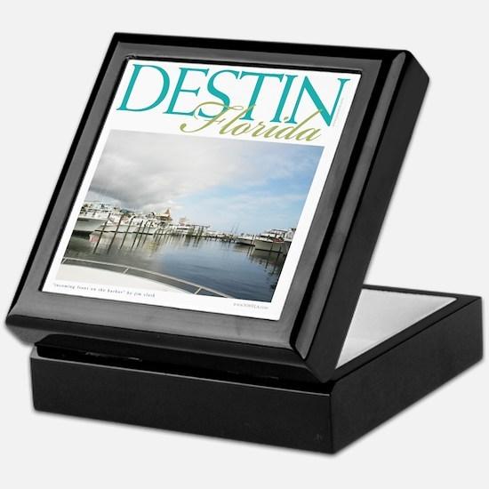 Destin Harbor Keepsake Box