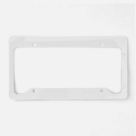 Blank License Plate Holder