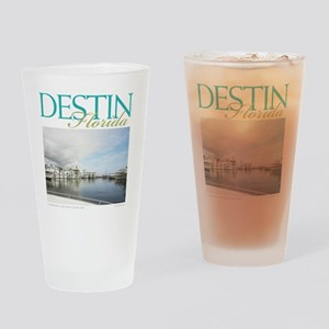 Destin Harbor Drinking Glass