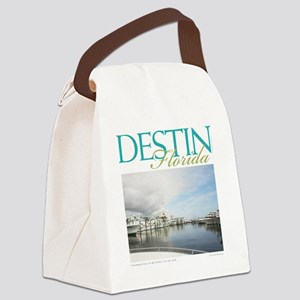 Destin Harbor Canvas Lunch Bag