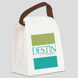 Destin Florida Canvas Lunch Bag