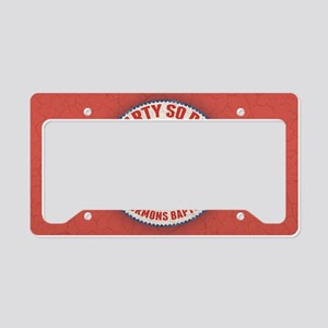 gop-eleph-dead-OV License Plate Holder