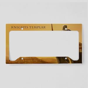 templar calendar License Plate Holder