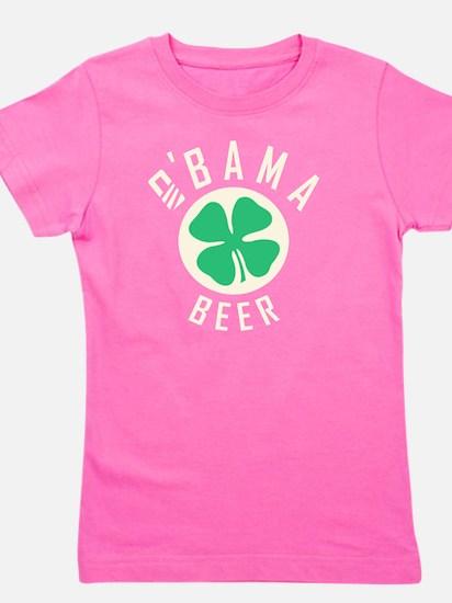 Obama Beer Girl's Tee