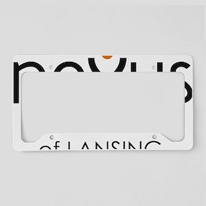 Nexus Academy of Lansing logo License Plate Holder