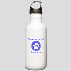 Property Of My Shih Tzu Water Bottle