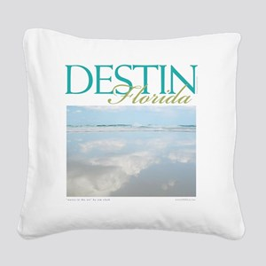 Air Waves Square Canvas Pillow