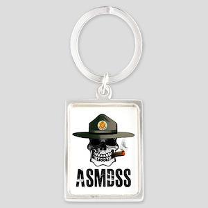 ASMDSS Logo with Brand Portrait Keychain