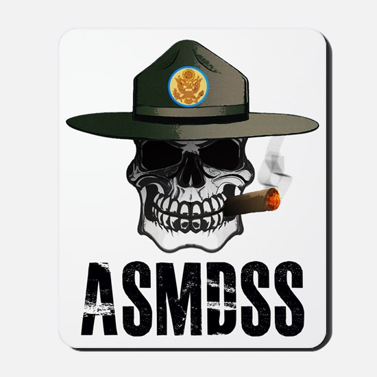 ASMDSS Logo with Brand Mousepad