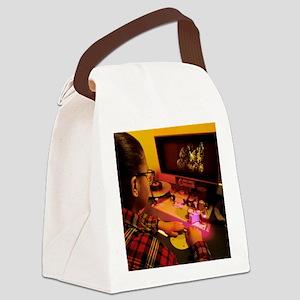 Film editing Canvas Lunch Bag