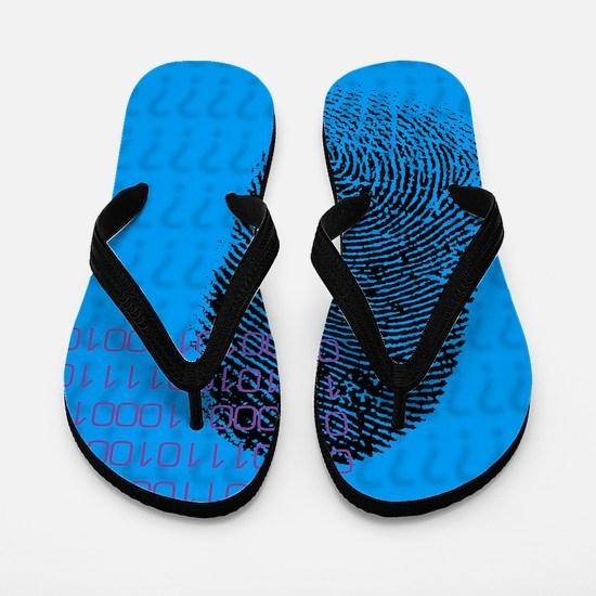 Fingerprint Flip Flops