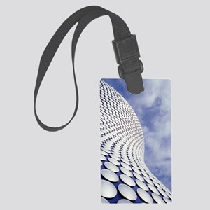 Shopping centre architecture Large Luggage Tag