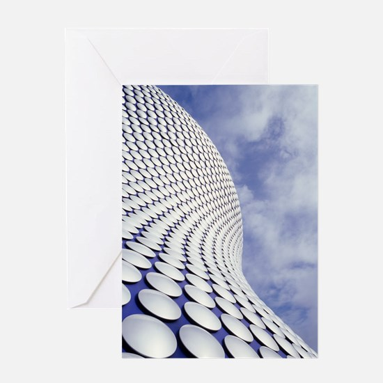 Shopping centre architecture Greeting Card