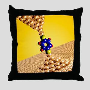 Seebeck electrical effect, artwork Throw Pillow