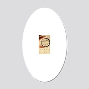 Family tree 20x12 Oval Wall Decal