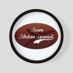 Team Spaniel Wall Clock
