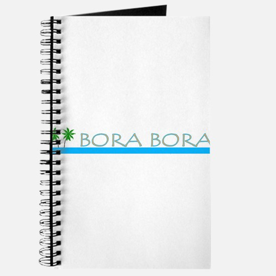 Funny Bora bora Journal