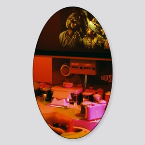Film editing Sticker (Oval)