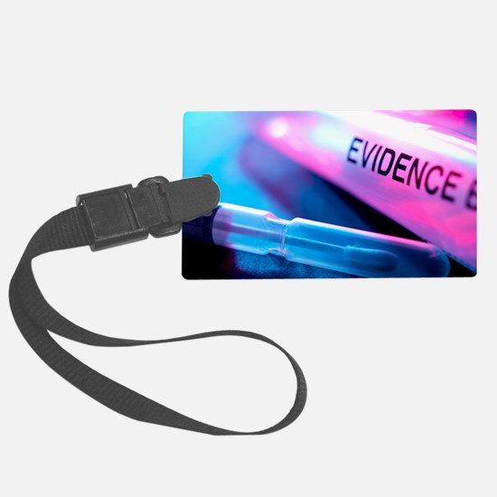 Forensic evidence Luggage Tag
