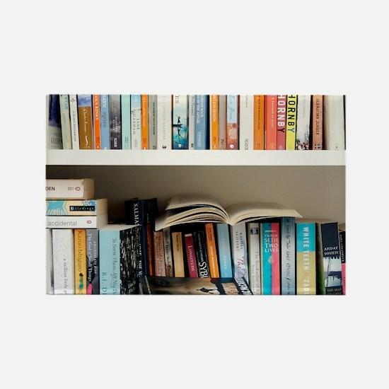 Fiction books Rectangle Magnet