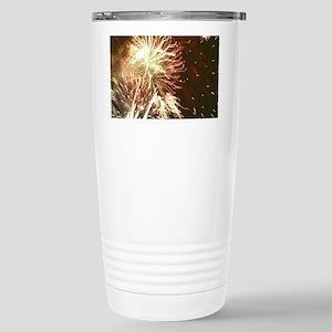 Firework display Stainless Steel Travel Mug
