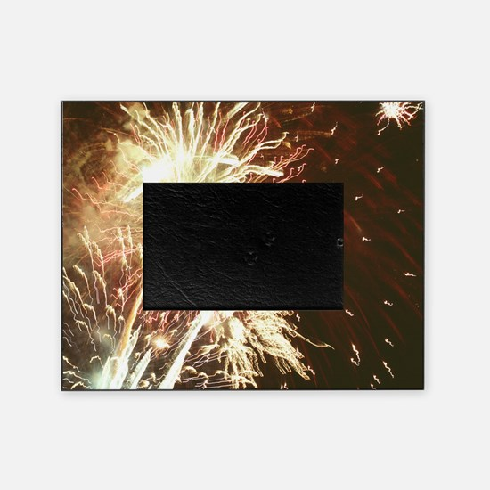Firework display Picture Frame