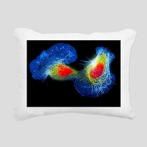 Fish skin cells Rectangular Canvas Pillow