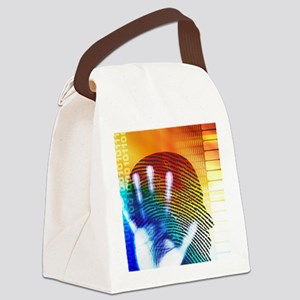 Forensic science Canvas Lunch Bag