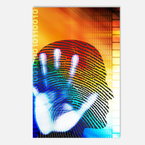 Forensic science Postcards (Package of 8)
