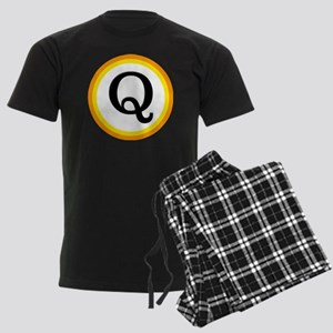 Monogrammed Halloween Trick Or Men's Dark Pajamas