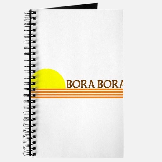 Unique Bora bora Journal