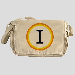 Monogrammed Halloween Trick Or Treat Messenger Bag