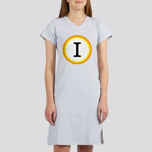 Monogrammed Halloween Trick Or  Women's Nightshirt