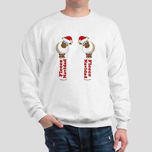 FleeceFlipFlopsWhite-b Sweatshirt