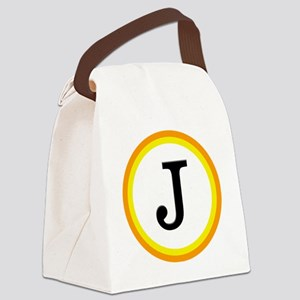 Monogrammed Halloween Trick Or Tr Canvas Lunch Bag