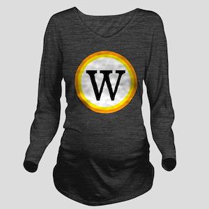 Monogrammed Hallowee Long Sleeve Maternity T-Shirt