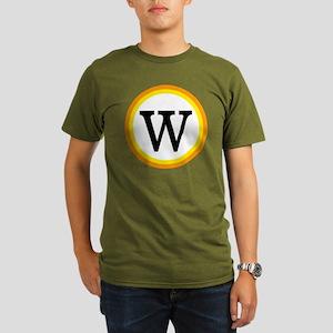Monogrammed Halloween Organic Men's T-Shirt (dark)
