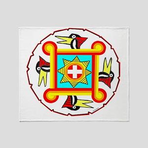 SOUTHEAST INDIAN DESIGN Throw Blanket