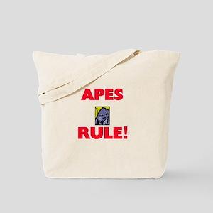 Apes Rule! Tote Bag