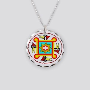 SOUTHEAST INDIAN DESIGN Necklace Circle Charm