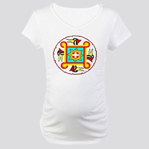 SOUTHEAST INDIAN DESIGN Maternity T-Shirt