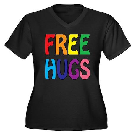 Free Hugs T-shirt Scura waSFhHpwPI
